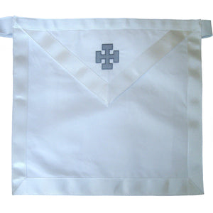 Masonic Scottish Rite 31st Degree Inspector Inquisitor Commander Regalia Apron - Bricks Masons