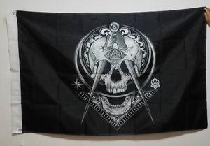WIDOW'S SON Masonic Flag