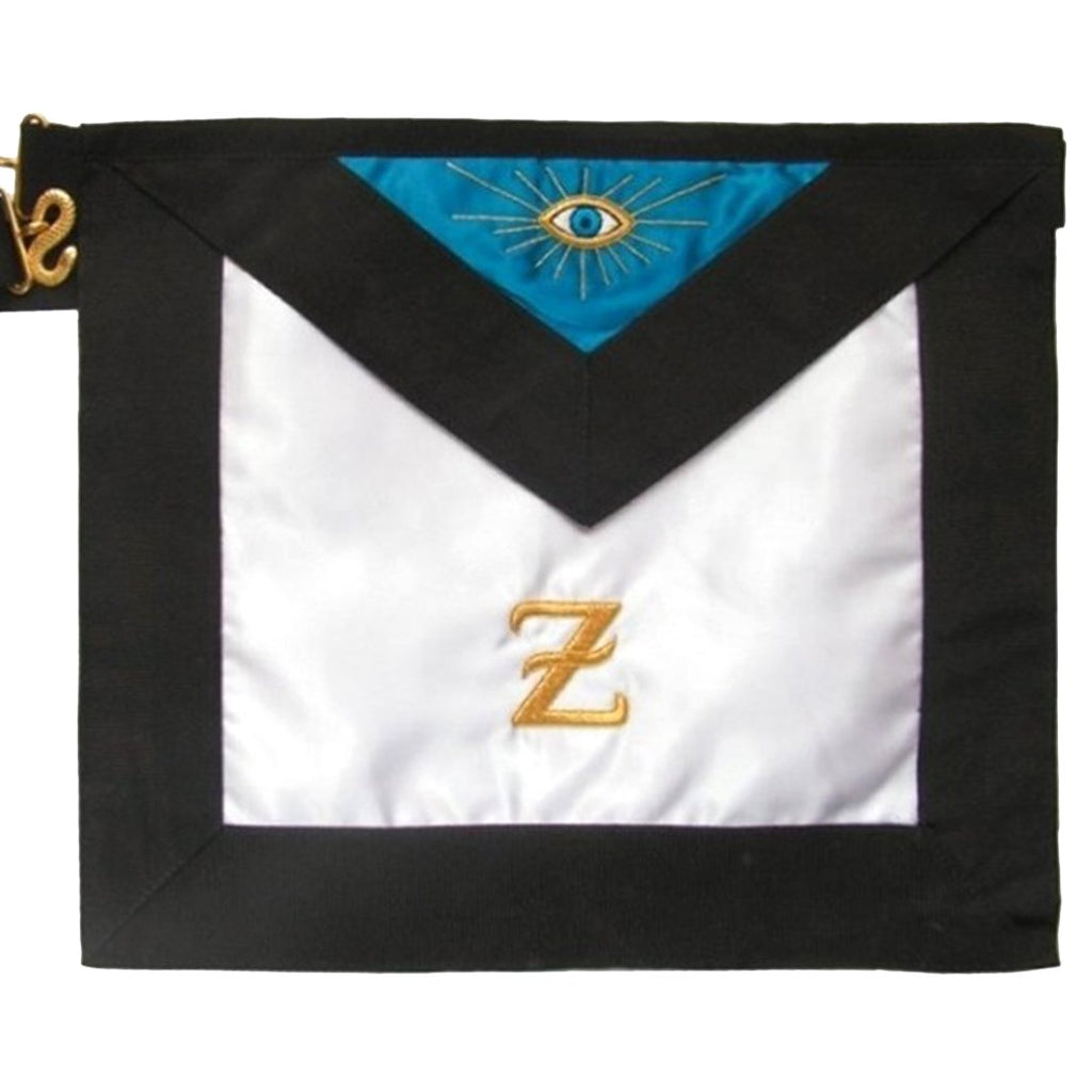 Masonic Scottish Rite Satin Masonic apron - AASR - 4th degree - Bricks Masons