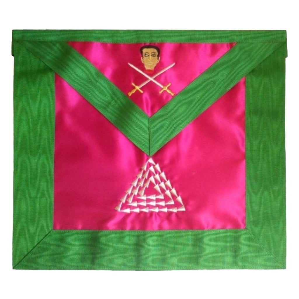 Masonic Scottish Rite Satin apron – AASR – 15th degree