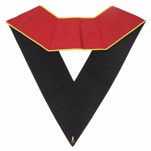 Masonic AASR collar 18th degree - Knight Rose Croix - Ouroboros + Latin Cross - Bricks Masons