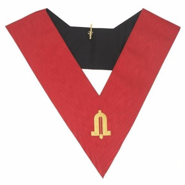 Masonic AASR collar 18th degree ‰ۡÌÝÌÕ Knight Rose Croix ‰ۡÌÝÌÕ Junior Warden - Bricks Masons