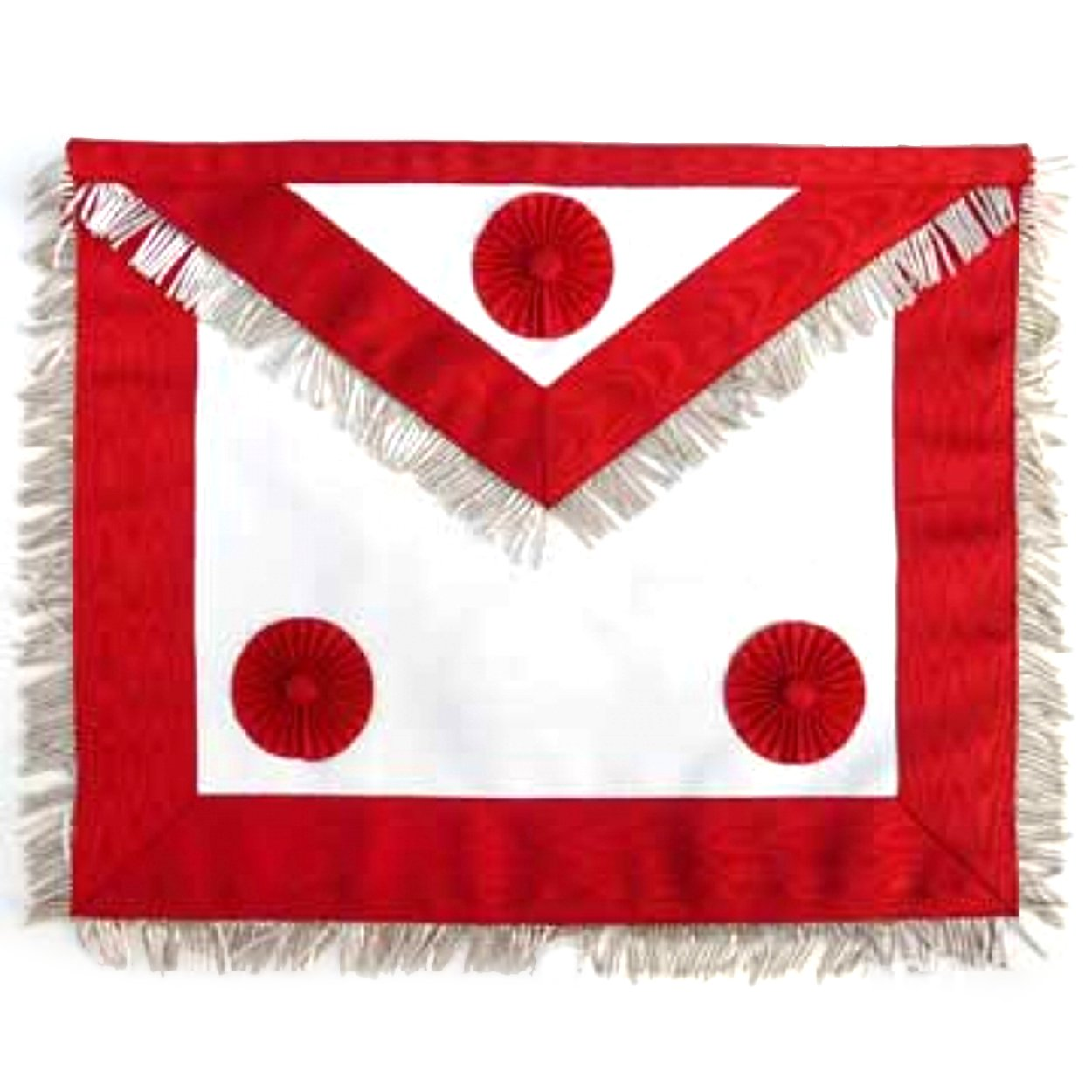 Masonic Scottish Rite AASR Honor Master Leather Apron - Bricks Masons