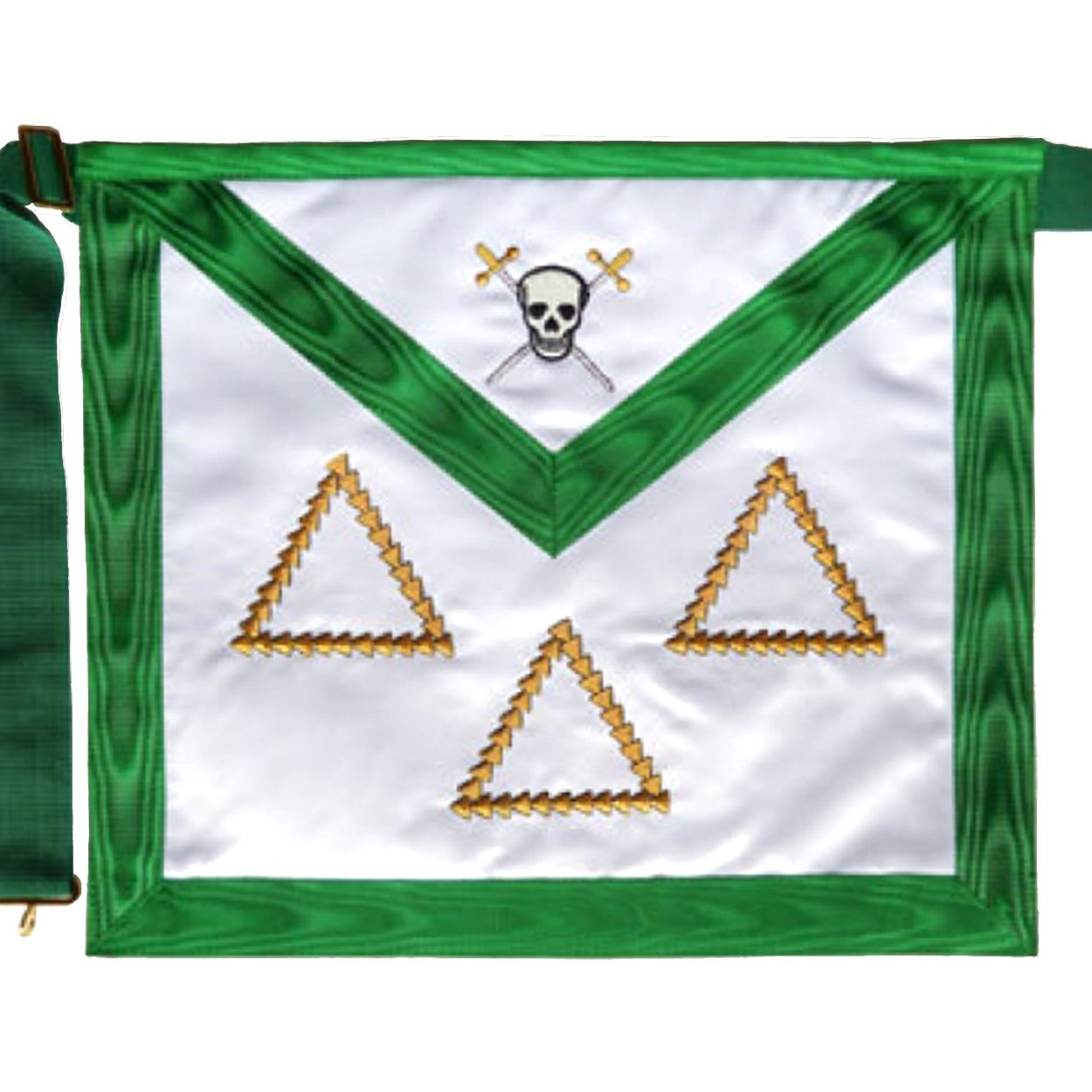 Masonic Scottish Rite Satin apron - AASR - 15th degree - Bricks Masons