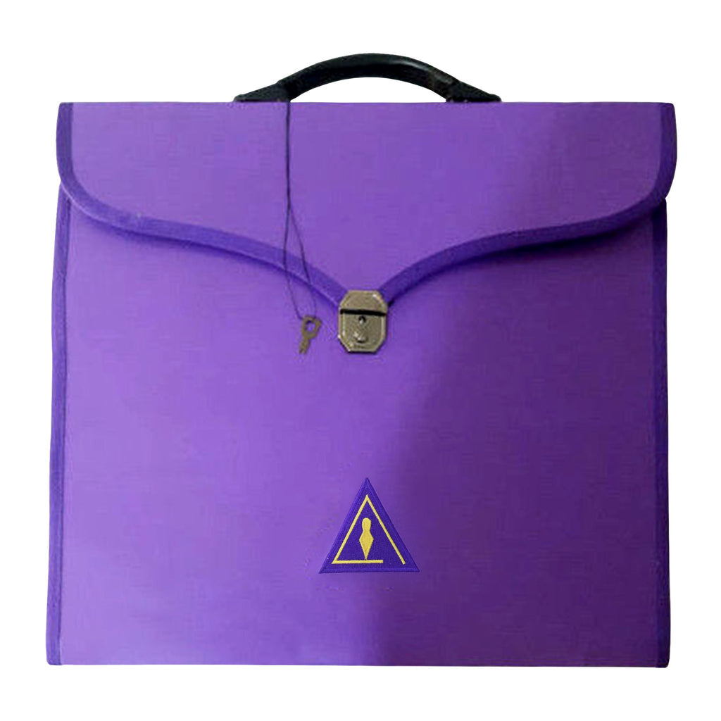Masonic Cryptic Purple MM/WM and Provincial Full Dress Cases II - Bricks Masons