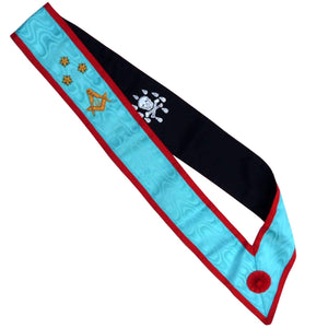 High Quality Scottish Rite AASR Master Sash 3 Stars - Bricks Masons
