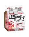 Smirnoff Pure Cranberry & Apple - 330 mL Bottles