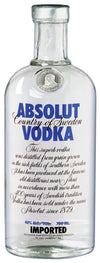 Absolut Vodka - 1 Litre