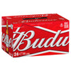 Budweiser Carton - 355 mL Bottles