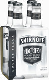 Smirnoff Black 4 Pack- 300 mL Bottles