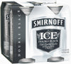 Smirnoff Black 4 Pack - 375 mL Cans