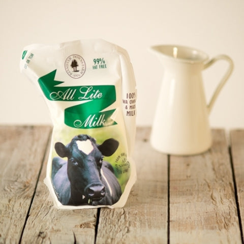 BANNISTER DOWNS LITE MILK 1L