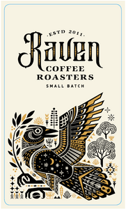 RAVENS COFFEE ROASTERS - WHOLE BEANS 1KG