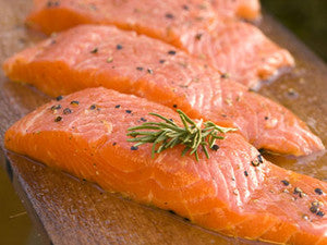 Smoked Salmon Portions - Norweigan 100gr