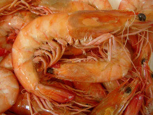 XL Cooked King Prawns - Whole
