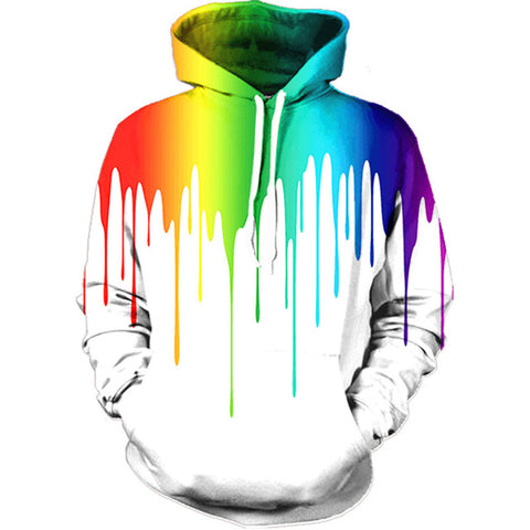 Colourful Paint Unisex Hoodie