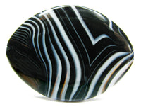 Black and White Banded Agate Stone, Buy Agate Stone Online, Agate Gemstone Price for Sale, Agate Stone Uses and Benefits, Best Quality Authentic Original Genuine Natural Agate Stone from India Bharat