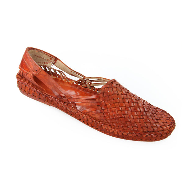 Remarkable Tan Color Ladies Kolhapuri Shoe with Chatai Patta Design Buy Online Authentic Original Traditional Best Quality from Kolhapur (Maharashtra)