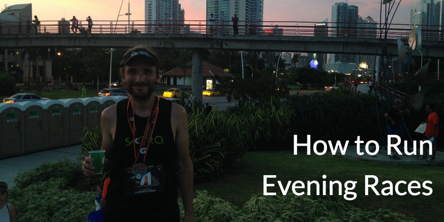 How to Run an Evening Race