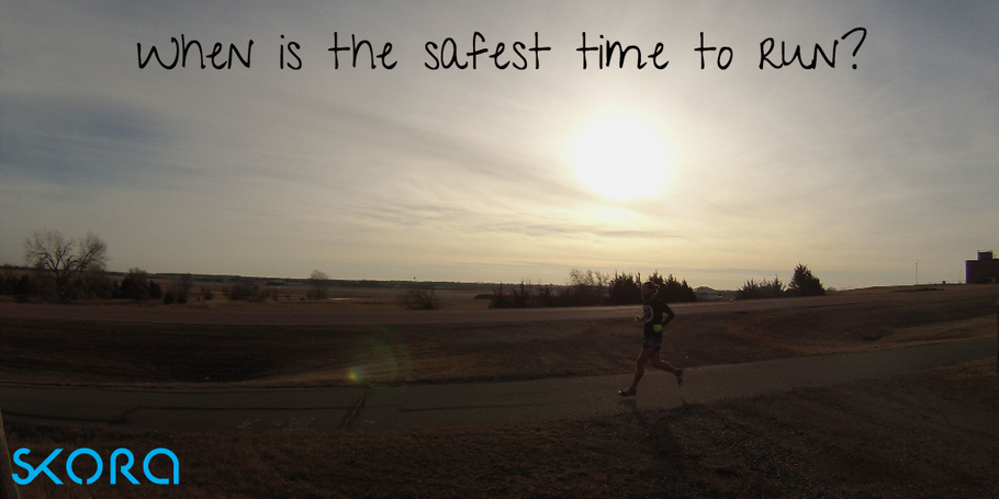 When is the Safest Time of the Day to Run
