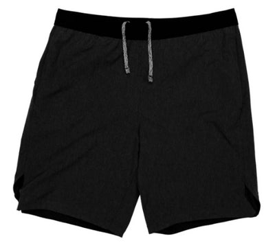 "WOVEN STRETCH UNLINED RUNNING SHORT 9"" INSEAM"