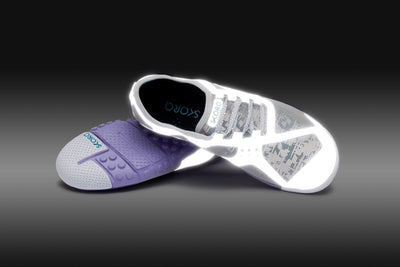 SILVER/LT.PURPLE/WHITE
