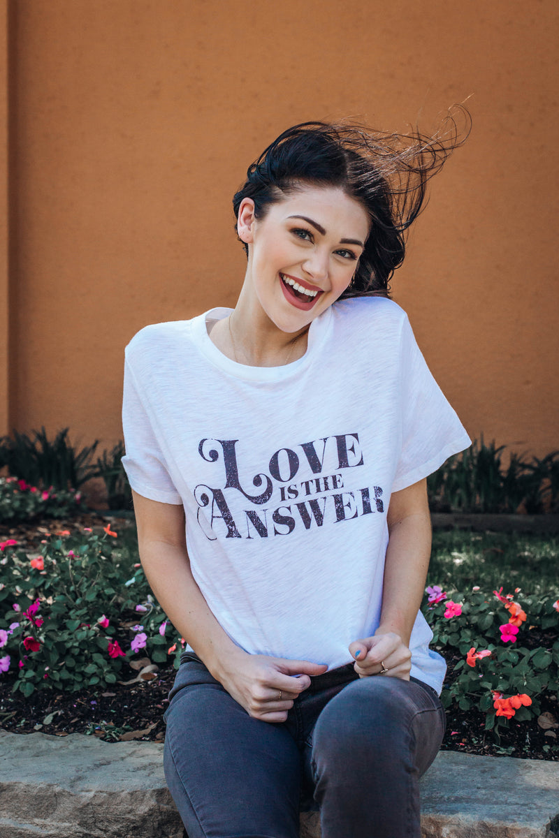 Love Is The Answer Tee