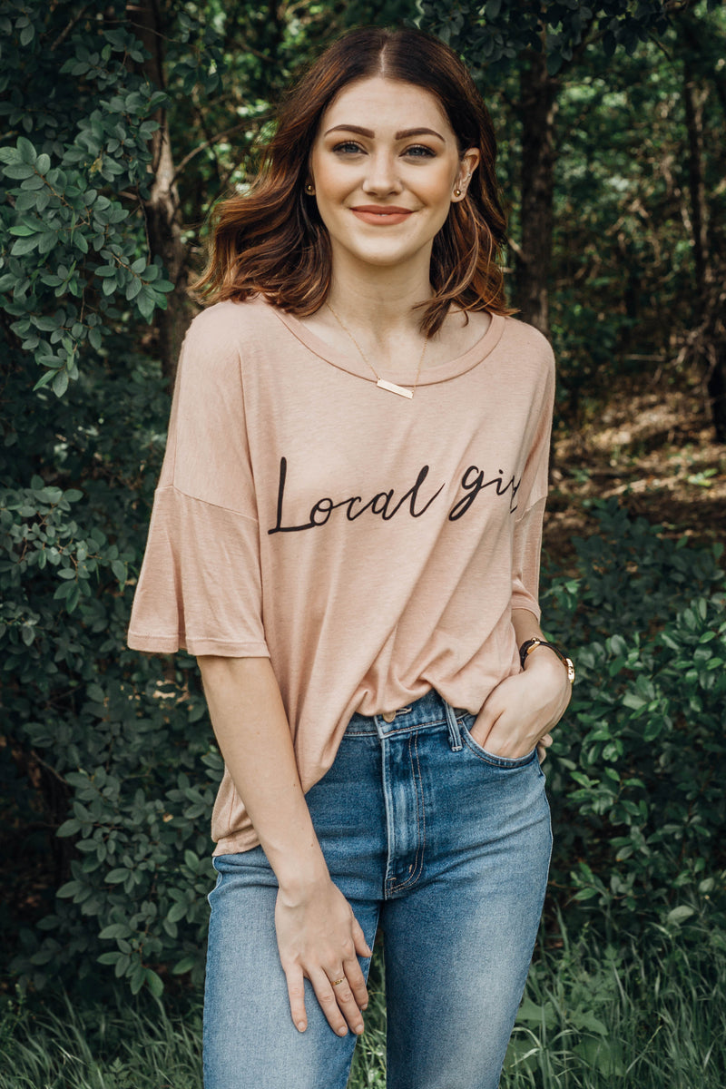 Local Girl Graphic Tee