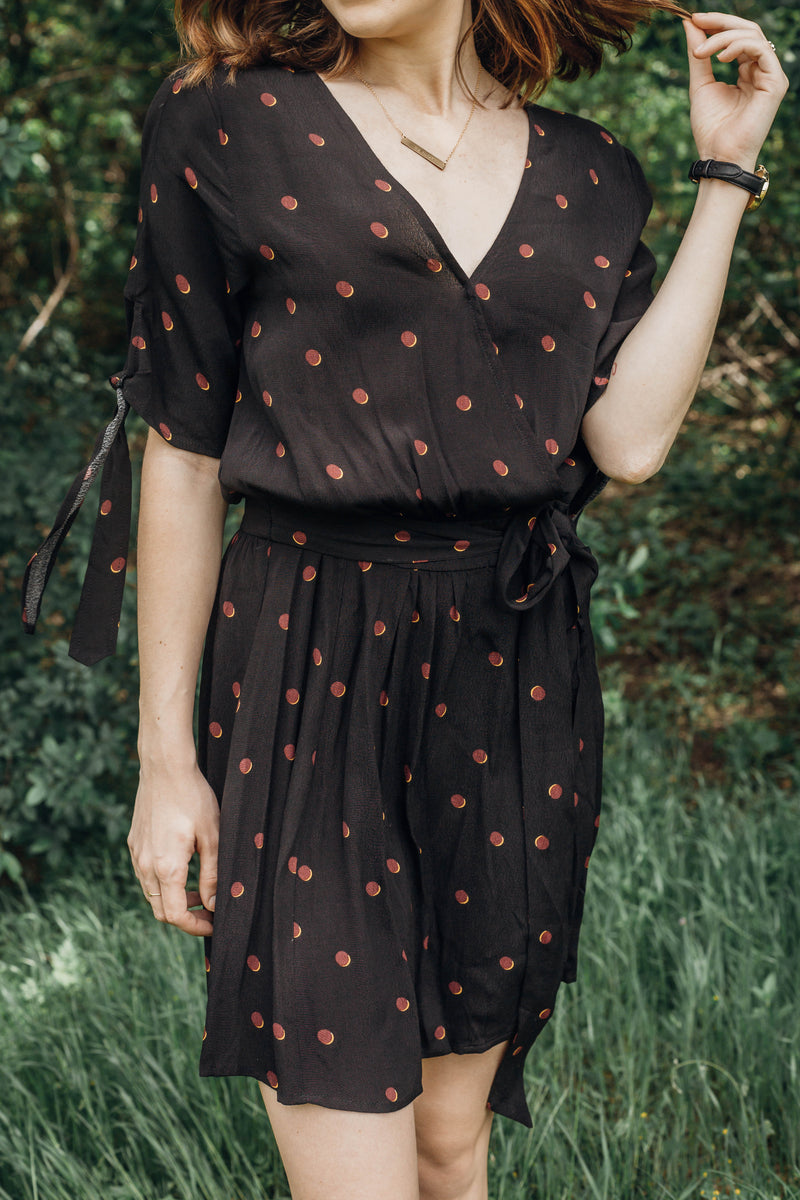 Floretta Wrap Dress