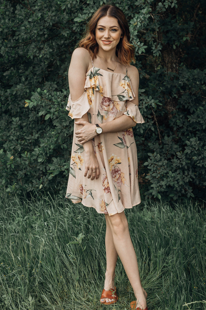 Hibiscus Floral Dress