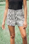 Slither My Way High Rise Shorts