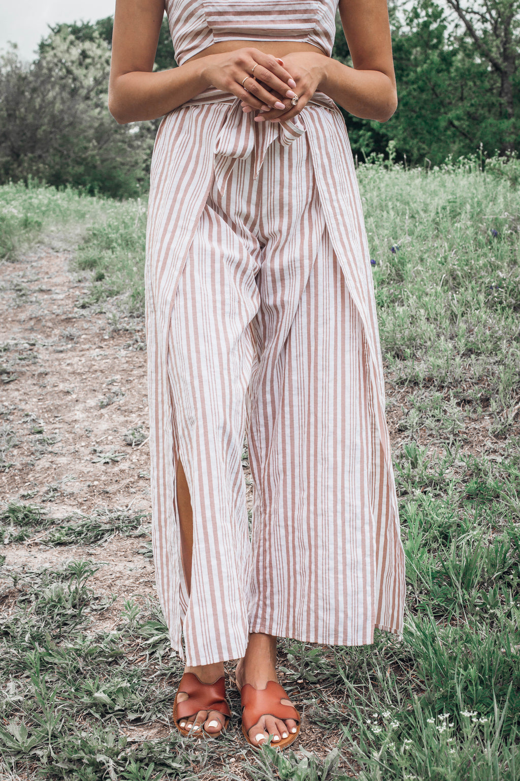 Dawson Striped Tie Pants