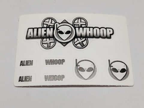 AlienWhoop Tiny Whoop Decal Set