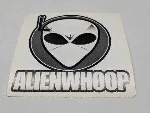 "AlienWhoop 3.5"" Logo Sticker"