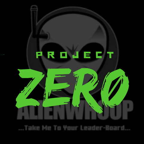 AlienWhoop ZER0 T-Shirt (Black & Green)