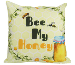 Bee my Honey | Pillow Cover | Honey | Throw Pillow | Home Decor | 18 x 18 Pillow | I Love You So | Valentines Day | Pillow | Gift for Her