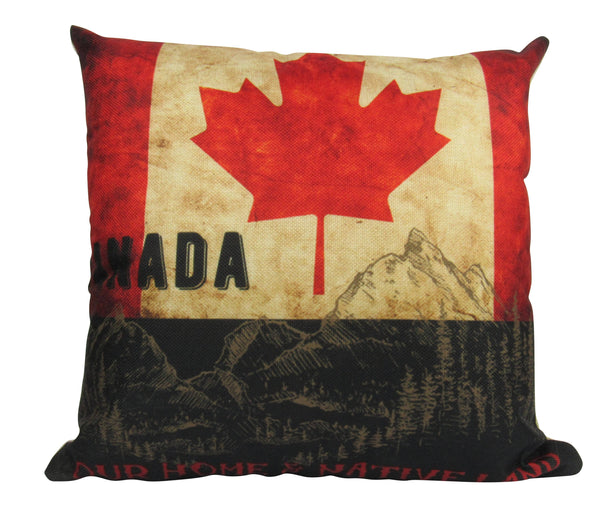 Canada Flag | Pillow Cover | Canadian Pillow | Oh Canada | Throw Pillow | Home Decor | Pillow