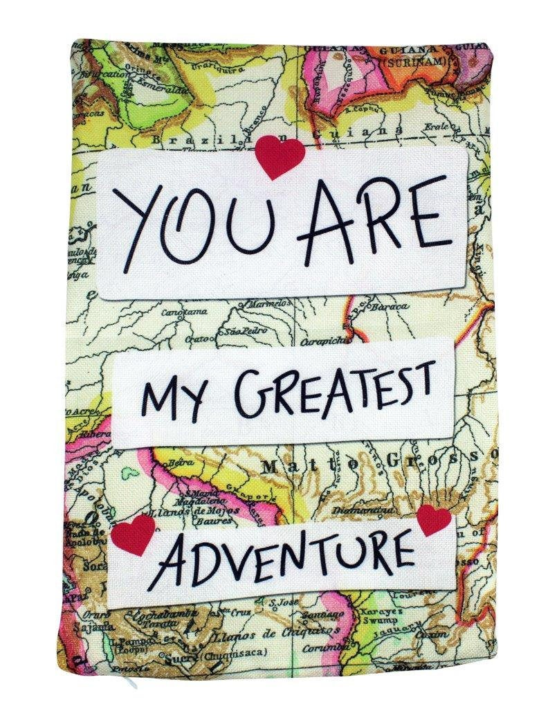 You Are My Greatest Adventure | Adventure Time | Pillow Cover | Wander lust | Throw Pillow | Travel Gifts | Gift for Friend | Gift for Women