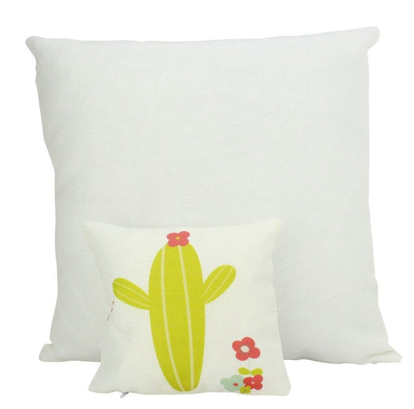 MINI Lime Green Cactus | Pillow Cover | Good Vibes Only | Cactus Pillow | Positive Vibes |South West