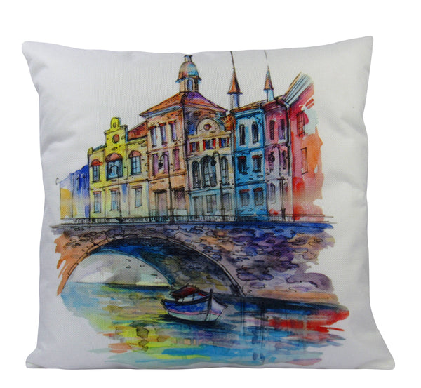 Paris | Pillow Cover | Paris Street | Throw Pillow | French | Home Decor | Pillow | Vintage | Travel