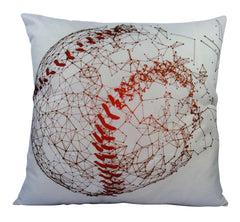 Baseball | Pillow Cover | Home Decor | Throw Pillow | Baseball Decor | Sport Pillow Case |Sport Gift