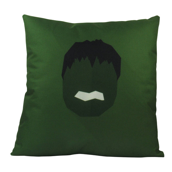Hulk | Pillow Cover | Super Hero | Vector | 18 x 18 Pillow | Throw Pillow Cover | Home Decor | Boys