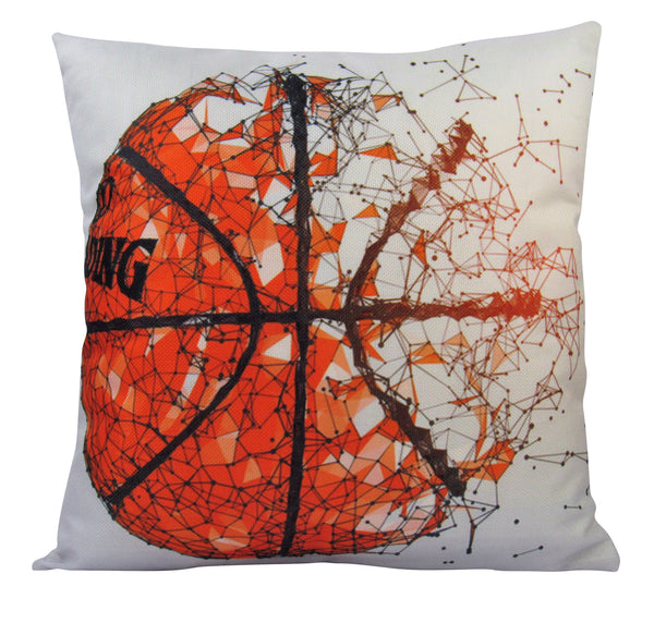 Basketball | Pillow Cover | Home Decor | Throw Pillow | Basketball Pillow | Sport Pillow Case