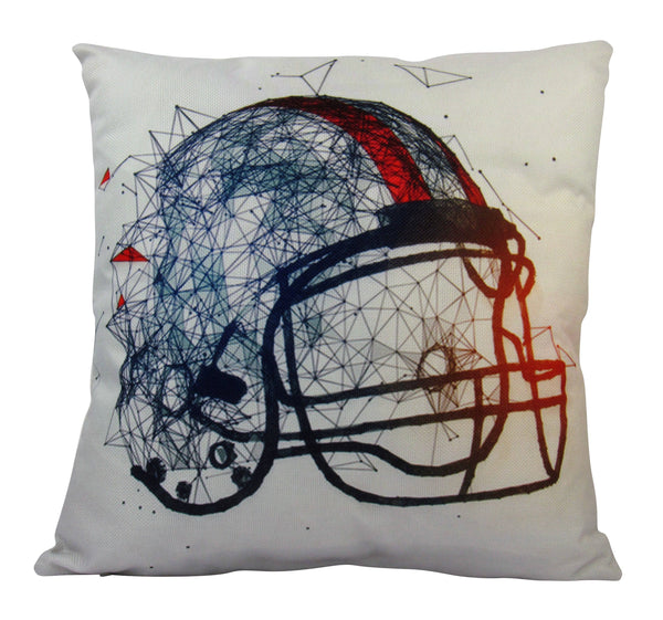 Football Helmet | Pillow Cover | Home Decor | Throw Pillow | Sport Pillow Case | Football Décor