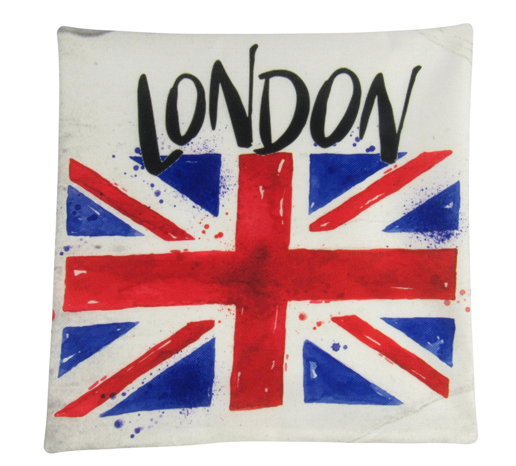 British Flag | London England | Pillow Cover | Throw Pillow | Home Decor | London Bridge | Gifts for Travelers | Unique Friend Gift