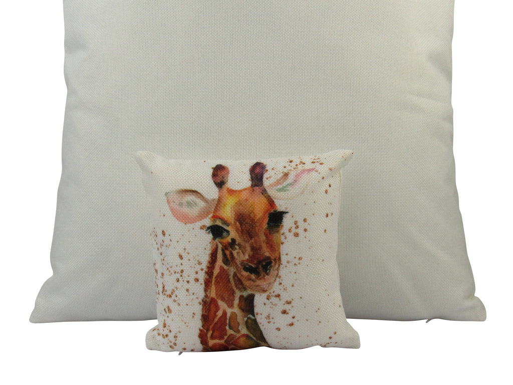 MINI: Giraffe | Pillow | Giraffe Print | Throw Pillow | Home Decor | Wilderness | Rustic Home Decor