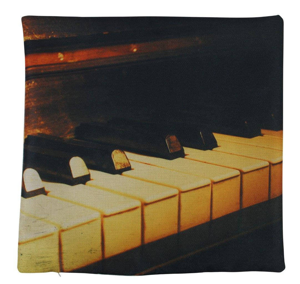 Piano Keys | Music Lover | Pillow Cover | Home Decor | Throw Pillow | Gift for Musician | Music decor | Music Gifts | Pillow