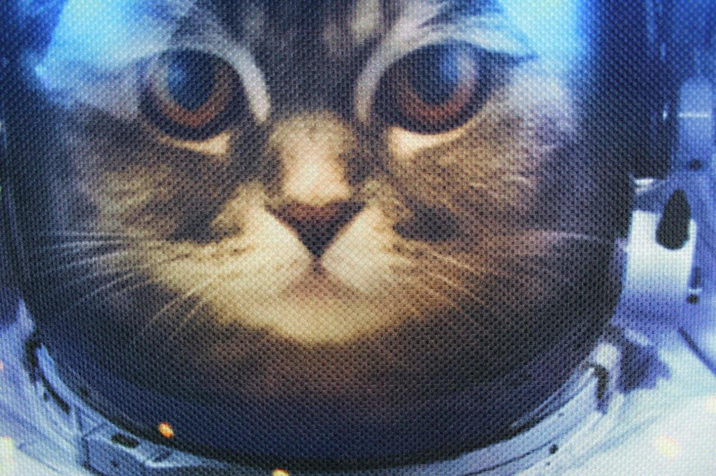Cat | Space Cat | Outer Space Cat | Pillow Cover | Astronaut Helemt | Throw Pillow | Home Decor | Outer Space | Gifts For Cat Lovers