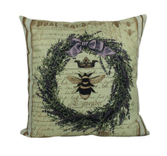 Vintage Queen Bee Pillow Cover | Our Nest | Our Nest Pillow | Farmhouse Decor | Home Décor