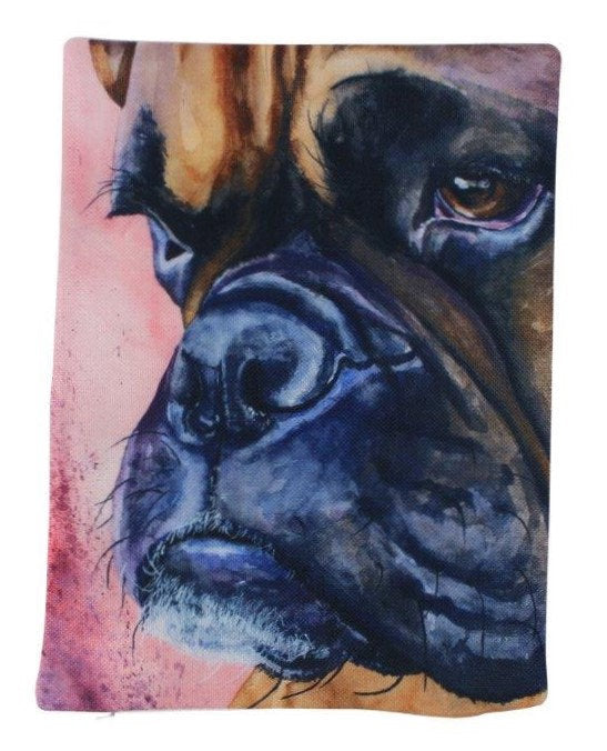 Dog | Boxer Watercolor | Pillow Cover | Dogs | Home Decor | Custom Dog Pillow | Boxer Mom | Dog Lover Gift | Dog Mom Gift | Pillows